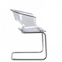 Chaise transparente design MISS B
