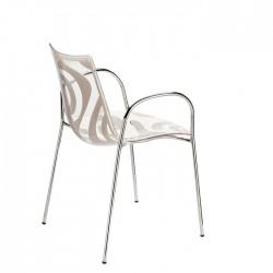 Chaises design avec accoudoirs WAVE