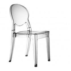 Chaise design fumé transparente BARBARELLA