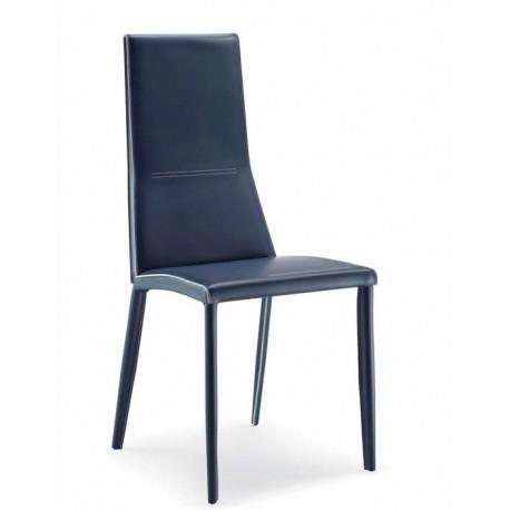 Chaise en cuir BETIE
