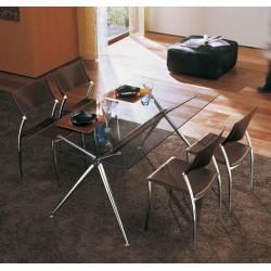 Table en verre BRIOSO par MIDJ