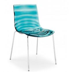 Chaise transparente L'EAU par CALLIGARIS