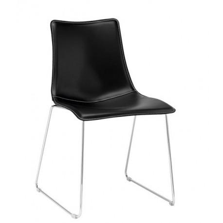 Chaise cuir ZEBRA