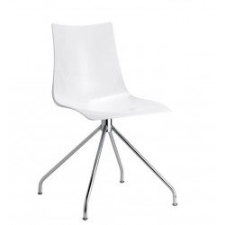 Chaises design blanche ZEBRA