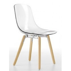 Chaise bois PURE LOOP WOOD