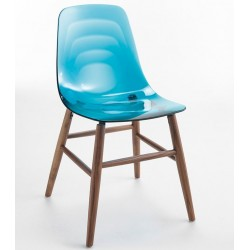 Chaise design bois COUPE OM