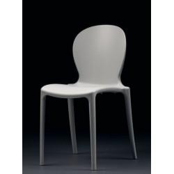 Chaise designe MUSA polypropylene blanche