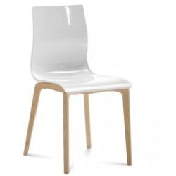 Chaise bois design GEL L.