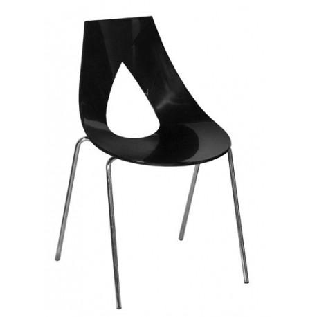 Chaise de cuisine NASTRO 4 noir