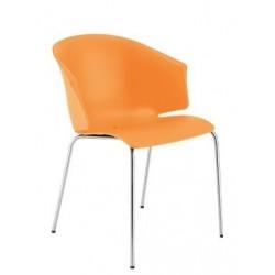 Chaise de restaurant GRACE orange