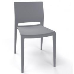 Chaise d'exterieur BAKHITA en plastique