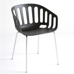 Chaise design d'extérieur BASKET par Gaber.