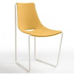 Chaise moderne en cuir APELLE S