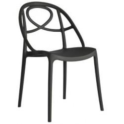 Chaise design en plastique ETOILE.