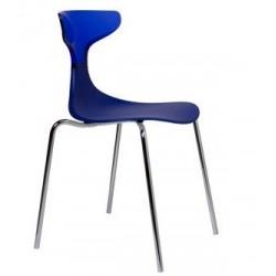 Chaise design en plastique STEAM PUNK.