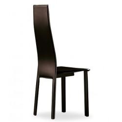 Chaises en cuir LILLE finitions cuir régénéré