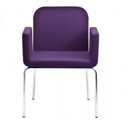 Chaise design en cuir AXIAL S