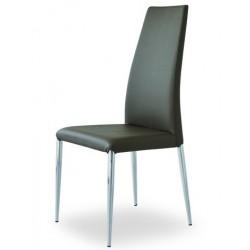 Chaise en cuir ELECTRA I.