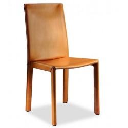 Chaise cuir de salle à manger ELIS.