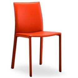 Chaise en cuir de salle a manger ORIS.