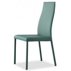 Chaise en cuir pour la salle à manger LEA.