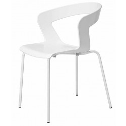 Chaise plastique IBIS blanche