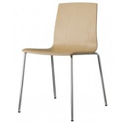 Chaise bois design ALICE par Scab.