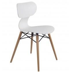Chaise design en plastique YUGO par Papatya.