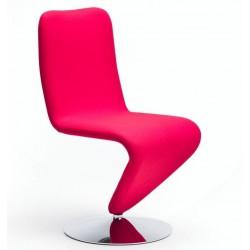Chaise de salle à manger design F12 cuir