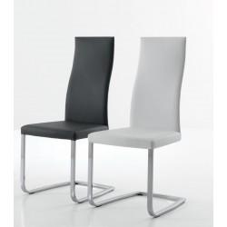 Chaise cuir design SLIM
