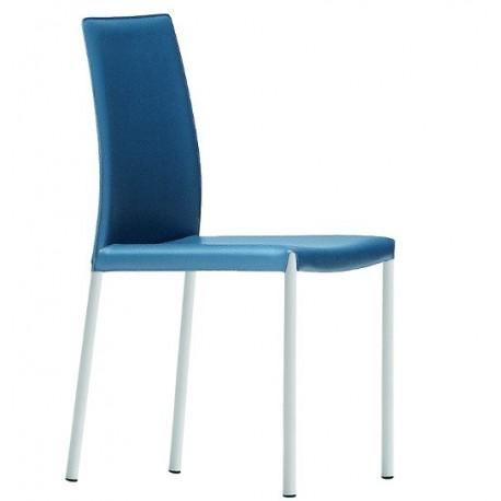 Chaise en cuir Nuvola SB CU par midj.