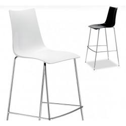 Chaise de bar design Zebra par Scab.