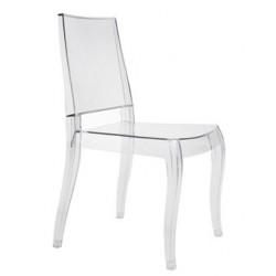 Chaise plexi design CLASS X transparente