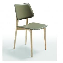 Chaise en cuir Joe S L CU.