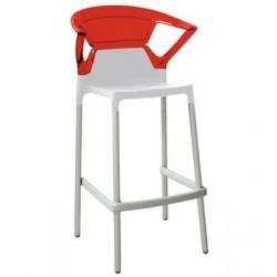 Tabouret design rouge EGO K