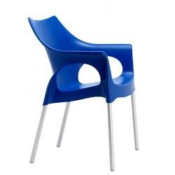 Fauteuil de terrasse OLA bleu
