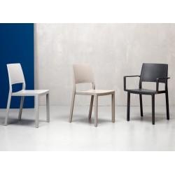 Chaise design d'extérieur Kate 3 coloris