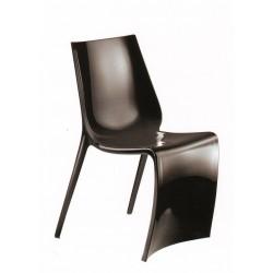 Chaise design SMART par PEDRALI noir