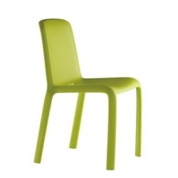 Chaise de jardin en polypropylene SNOW verte