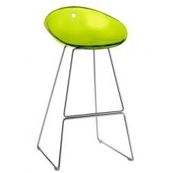 Tabouret bar design GLISS vert.