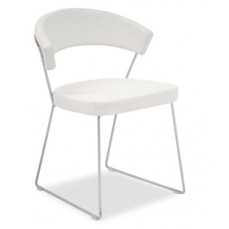 Chaise moderne cuir NEW YORK