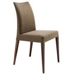 Chaise en cuir de salle à manger MATRIX