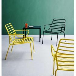 Fauteuil Lounge design LINK pour le jardin