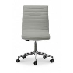 Chaise de bureau KRONO DB en cuir par MIDJ.