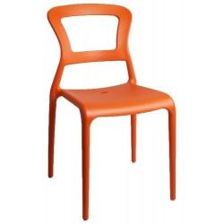 PROMOTION - Chaise d'extérieur PEPPER Orange.