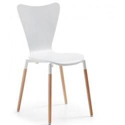 Chaise design ELECTI en bois