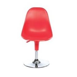 Chaise design tulipe HARMONY pied chrome.