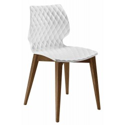 Chaise moderne pieds bois UNI 562.