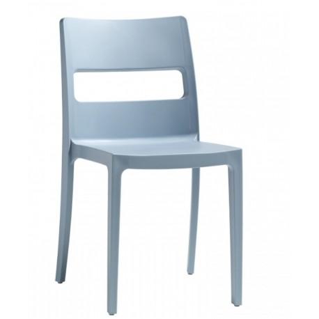 DESTOCKAGE - Chaise de terrasse SAI Bleu Ciel