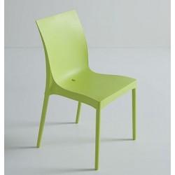 DESTOCKAGE Chaises de jardin IRIS Verte